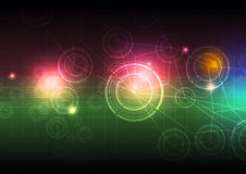 Abstract science background. Illustration abstract science background design Royalty Free Stock Photos