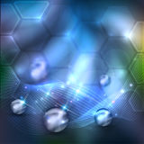 Abstract science background Stock Images