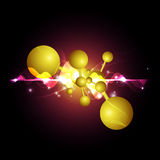 Abstract science background Stock Photos