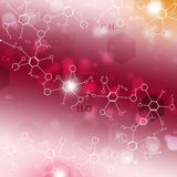 Abstract Science Background Royalty Free Stock Images