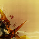 Abstract science background Stock Image