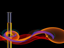 Abstract Science background test tube Royalty Free Stock Photo