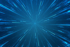 Abstract science fiction futuristic background. Abstract blue science fiction futuristic background Royalty Free Stock Images