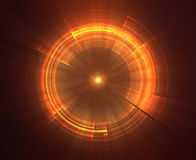 Abstract science fiction futuristic background Stock Images