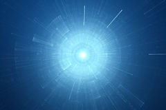 Abstract science fiction futuristic background. Abstract blue science fiction futuristic background Royalty Free Stock Photography