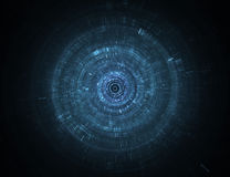 Abstract science fiction futuristic background Royalty Free Stock Photography