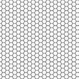 Abstract science hexagon background. Stock Photos