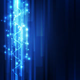Abstract science technology concept background. vector illustration Stock Image