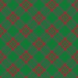 Abstract scottish plaid Stock Photography