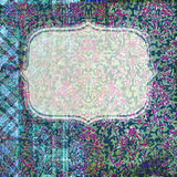 Abstract scrapbook frame background Royalty Free Stock Photo