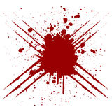 Abstract scratch splatter red color design. illustration  Stock Photography