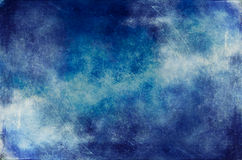 Abstract scratchy grunge sky Stock Photos