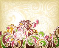 Abstract Scroll Background Royalty Free Stock Images