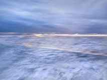 Abstract Sea. Abstract background of the sea, with a motion effect created with a slow shutter speed Stock Photos