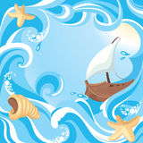 Abstract sea background Royalty Free Stock Image