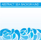 Abstract sea background Stock Photography