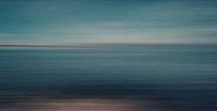 Abstract sea background in motion blur Royalty Free Stock Photos