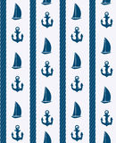 Abstract sea seamless pattern background. Vector Stock Images