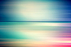 An abstract sea seascape Royalty Free Stock Photo
