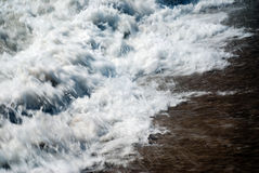 Abstract sea water Stock Image