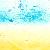 Abstract  sea water textured background in old grunge Royalty Free Stock Images
