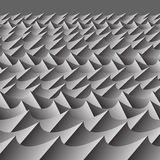 Abstract sea waves. Grey abstract sea waves pattern illustration Royalty Free Stock Photo