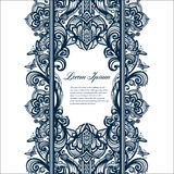 Abstract seamless arabic lace pattern Royalty Free Stock Photo