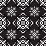 Abstract seamless Arabic pattern. Vector illustration. Royalty Free Stock Image