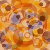 Abstract seamless background. With concentric circles (vector Royalty Free Stock Images