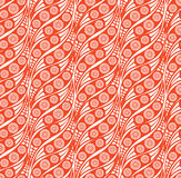 Abstract seamless background in 1960s style Stock Photography