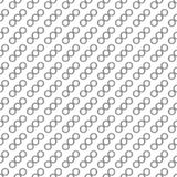 Abstract seamless background. Abstract background with circles in diagonal. Seamless background Stock Image