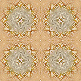 Abstract seamless background. Arab geometric seamless ornament, EPS8 - vector graphics Stock Image