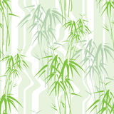 Abstract seamless background with bamboo Stock Photo