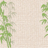 Abstract seamless background with bamboo Stock Photography
