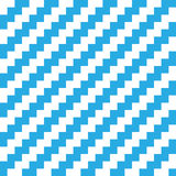 Abstract seamless background chevron pattern in blue and white. Vector illustration Royalty Free Stock Photography