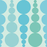 Abstract seamless background with colorful rounds. Blue background Royalty Free Stock Photography