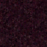 Abstract seamless background consisting of triangles Stock Image