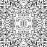 Abstract seamless background with doodle style, zen tangle for you design. Or adult coloring book Royalty Free Stock Photos