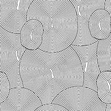 Abstract seamless background with doodle style, zen tangle for you design. Or adult coloring book Stock Photos