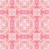 Abstract seamless background. Abstract seamless floral oriental-style pattern in pink Stock Images