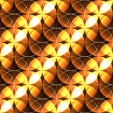 Abstract seamless background in golden brown and yellow color Royalty Free Stock Photography