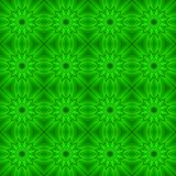 Abstract seamless background of green figures Stock Image