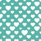 Abstract seamless background with hearts Stock Image