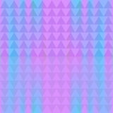Abstract seamless background of identical diamonds with different shades of color. Gradient. Vector illustration Stock Image