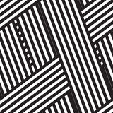 Abstract seamless background. With intertwining black and white stripes vector illustration