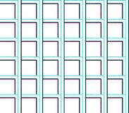 Abstract seamless background of lines and squares and cubes. Are laid in rows to form a continuous pattern royalty free illustration