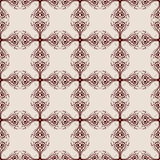 Abstract seamless background with ornament Stock Photo