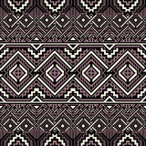 Abstract seamless background. Ornate geometric pattern. Ethnic motives. Vector illustration Vector Illustration