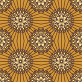 Abstract seamless background pattern Royalty Free Stock Photos