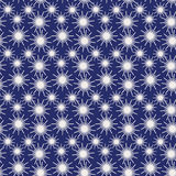 Abstract seamless  background pattern illustration. Seamless background abstract pattern with repeating sparkle starry graphic ornament on the blue background Stock Images
